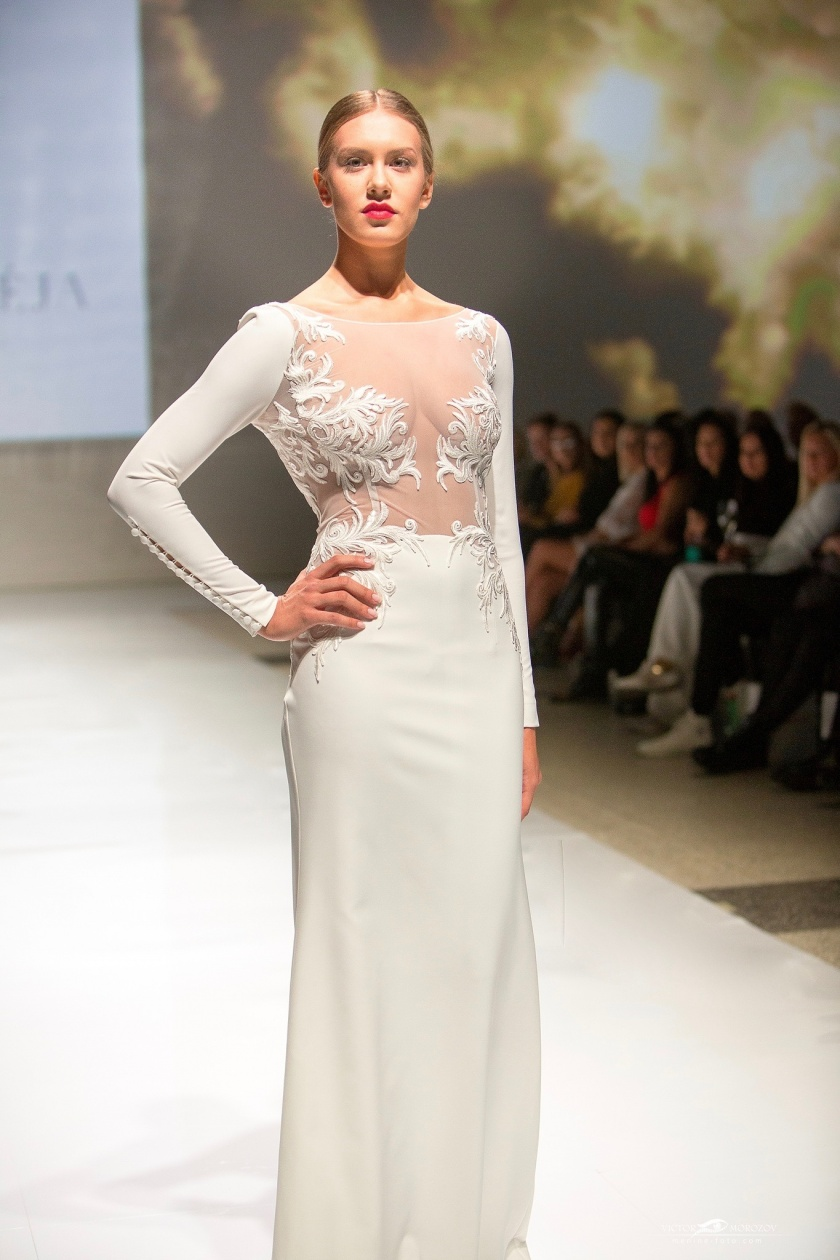 Tiulio feja Isteku lt Wedding Fashion Show 2018